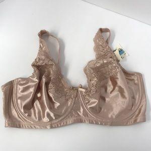 Pink K Women's Underwire Bra 4243, Beige